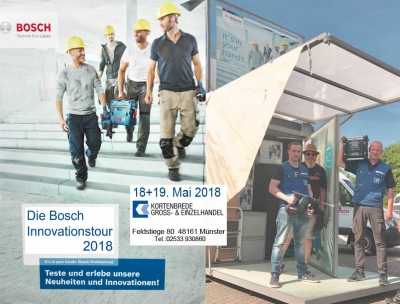 Bosch Innovations Roadshow 2018 Kortenbrede